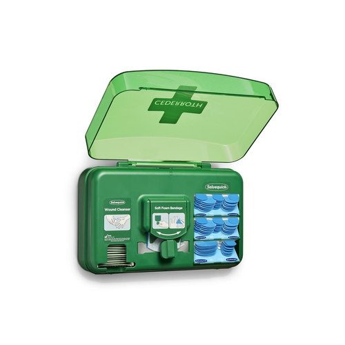 Cederroth First Aid Wound-Care Station (blue)