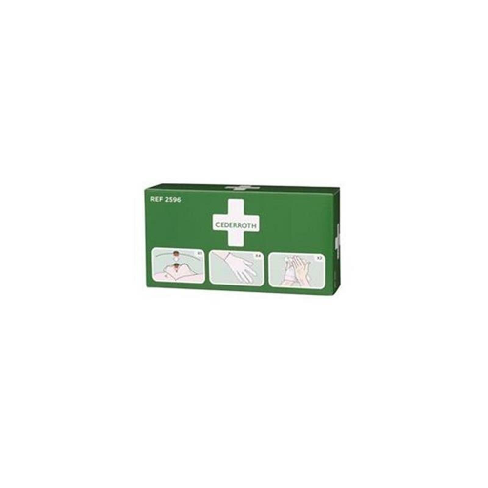 Protection Kit (Einmalhandschuhe, Reinigungstcher, Beatmungstuch mit Ventil), passend auch fr First Aid Station